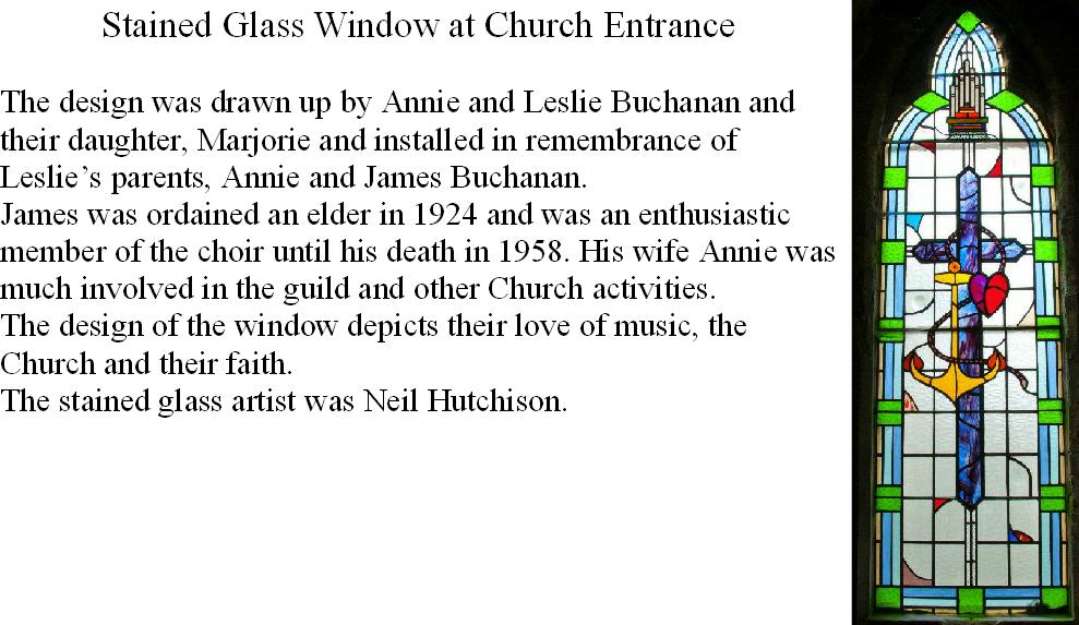 Entrance Window