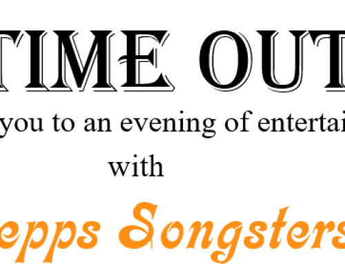 Time Out Concert – New Date 30th April