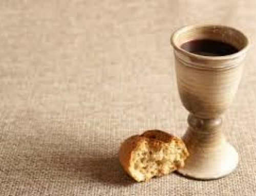 On-line Communion Service 15th November at 6.30pm