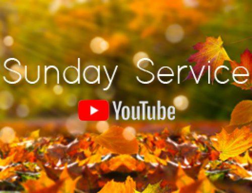 Sunday Service 24th October 2021