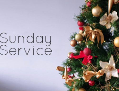Sunday Service 27th December 2020