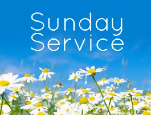 Sunday Service 4th July 2021